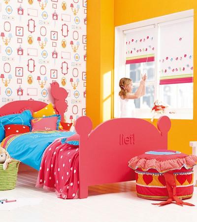 Vrolijk kinderkamer behang van Lief! - Behang: ideëen, tips en de ...