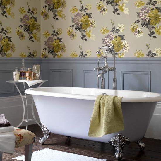 Behang je badkamer! - Behang: ideëen, tips en de nieuwste collecties ...