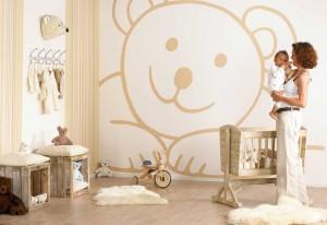 babykamer behang - behang: ideëen, tips en de nieuwste collecties, Deco ideeën
