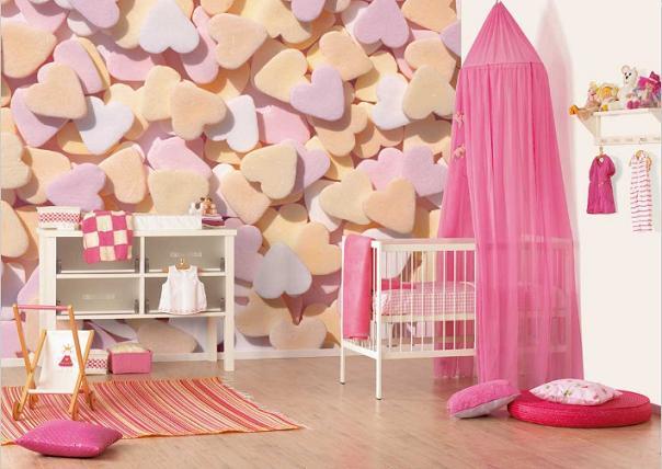 Babykamer Ideeen Behang : Babykamer behang - Behang: ideëen, tips en ...