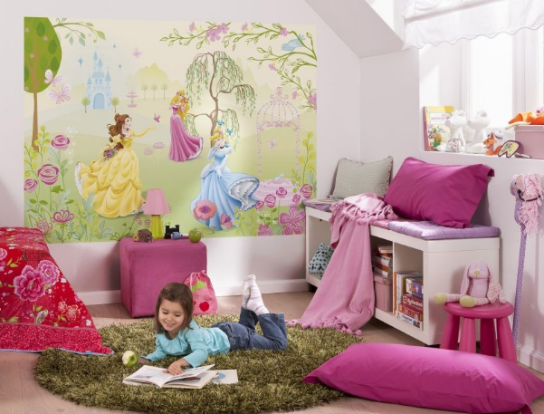 Disney behang voor de kinderkamer   Behang  ide u00eben, tips en de nieuwste collecties  Behangwinkel