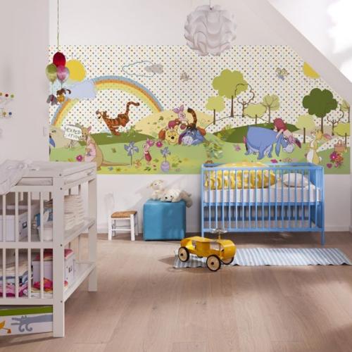 Disney behang voor de kinderkamer behang ide en tips en de nieuwste collecties behangwinkel - Behang voor trappenhuis ...