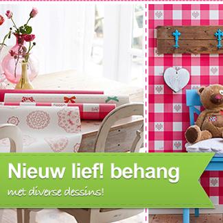 Nieuwe collectie Lief behang! - Behang: ideëen, tips en de nieuwste ...
