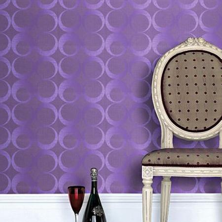 passie in de kamer met paars behang behang ideà en tips en de