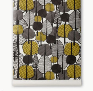 Ferm living gracewood wallpaper behang ide en tips en de nieuwste collecties behangwinkel - Behang grafisch ontwerp ...