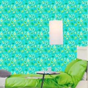 Een luxe uitstraling met groen behang