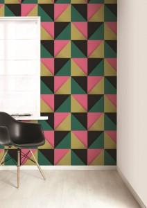 Vliesbehang met grafische vormen behang ide en tips en de nieuwste collecties behangwinkel - Behang grafisch ontwerp ...