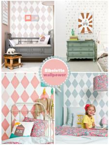 Behang babykamer van Bibelotte - Behang: ideëen, tips en de nieuwste ...
