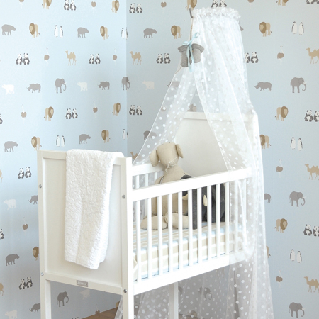 neutraal babykamer behang ~ lactate for ., Deco ideeën