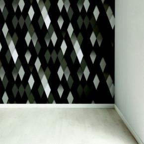 De pracht van zwart behang