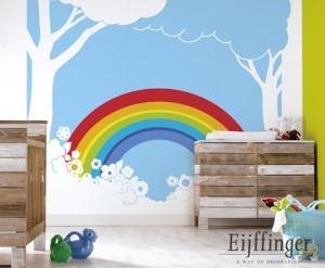 Rainbow Romance Een Combinatie Van Grafisch En Romantisch