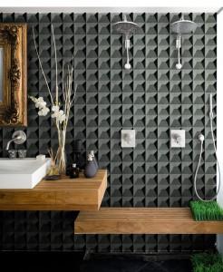 Nieuwe collectie behang speciaal voor badkamer - Behang: ideëen ...