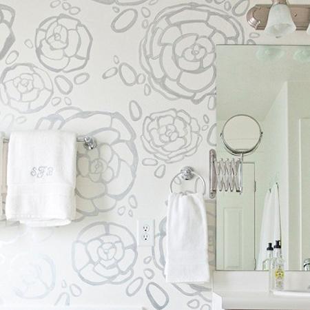 Nieuwe collectie behang speciaal voor badkamer behang ide en tips en de nieuwste collecties - Behang voor trappenhuis ...