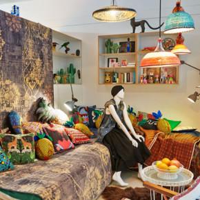 Wereldse look in huis met woonmodetrend Wanderlust