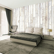 slaapkamer hout behang – artsmedia, Deco ideeën
