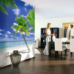 Behang voor vakantie in eigen huis