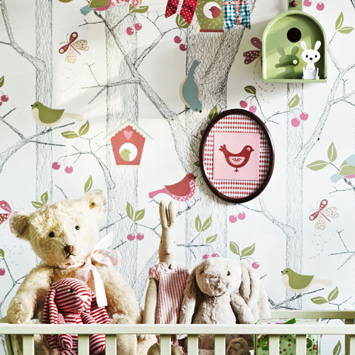 Behang Kinderkamer Scandinavisch : Scandinavisch design voor de ...