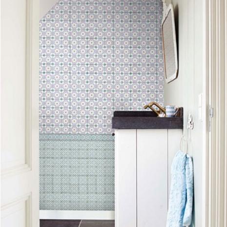 Tiles behang van pip studio behang ide en tips en de nieuwste collecties behangwinkel - Behang grafisch ontwerp ...