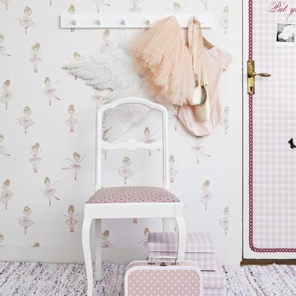 Meisjes poppenbehang behang ide en tips en de nieuwste collecties behangwinkel - Decoratie studio ontwerp ...