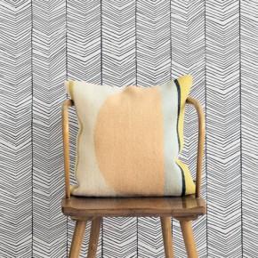 Visgraat behang voor een stijlvolle look!