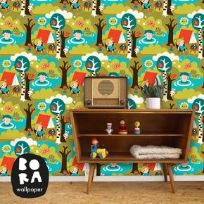 Bonte prints voor de kinderkamer van Bora