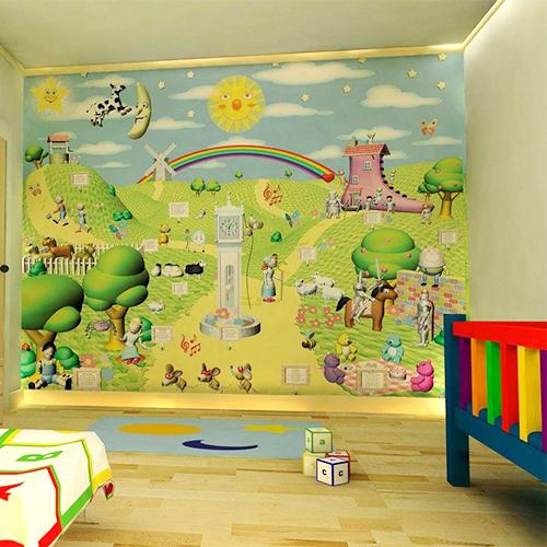 Bos Behang Slaapkamer: De mooiste muren lady lemonade. De mooiste ...