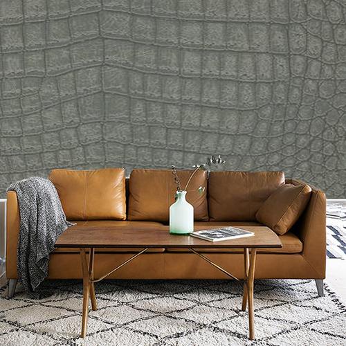 Een wilde look voor op de muur behang ide en tips en de nieuwste collecties behangwinkel - Deco woonkamer aan de muur wit ...